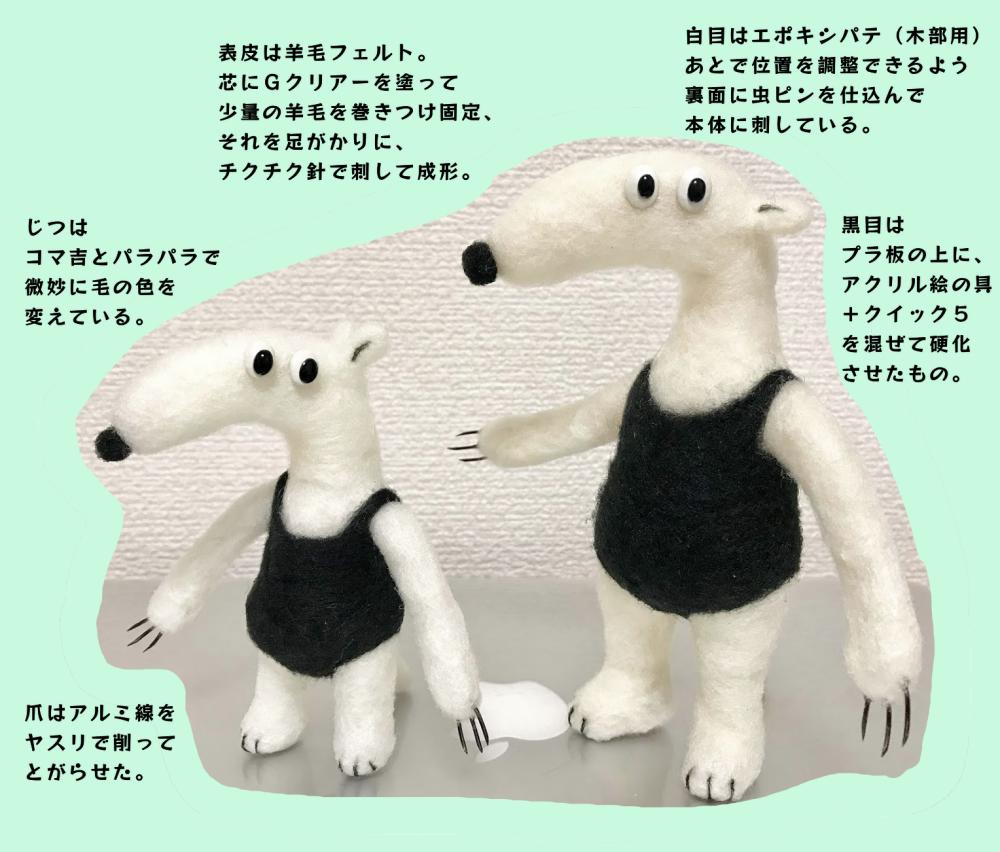 コマ吉人形説明